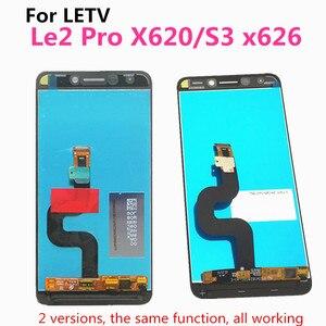Image 5 - Le2 pantalla táctil LCD Original para LeEco, pantalla LCD Original para LeEco S3 X626, Le 2 Pro X620 X526