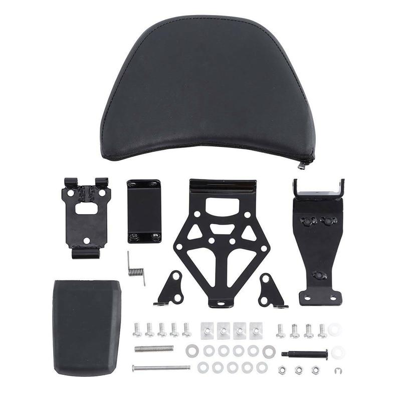 Motorcycle Adjustable Driver Rider Seat Backrest Kit For Honda Goldwing GL1800 2001-2017 16 15 14 13