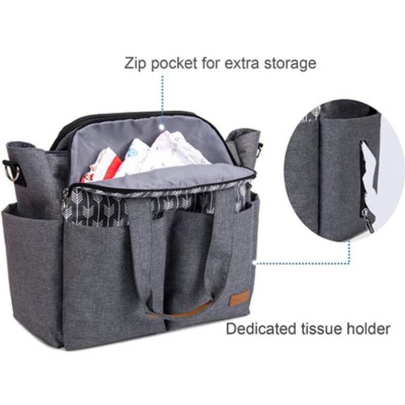Mummy Maternity Diaper Bag Large Capacity Nursing Travel Backpack Designer Stroller Baby Bag Baby Care Nappy Changing Bag