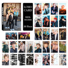 KPOP Bangtan Jongens LEGER 2018 Album LOMO Kaarten K-POP Nieuwe Fashion Self Made Paper Photo Card HD Photocard JIN V SUGA(China)