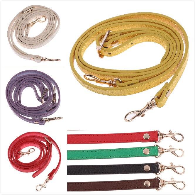 1PCS DIY Women's PU Leather Bag Belt High Quality Crossbody Shoulder Bag Strap Replacement Handbag Handles Accessories For Bags