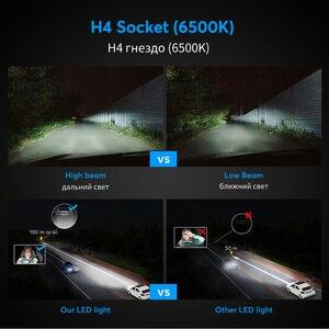 Image 4 - Oslamp H4ハイロー車のledヘッドライト電球H7 H11 9005 9006 50ワット8000LM 6500 18k csp ledオートヘッドランプledランプ照明電球12v 24v