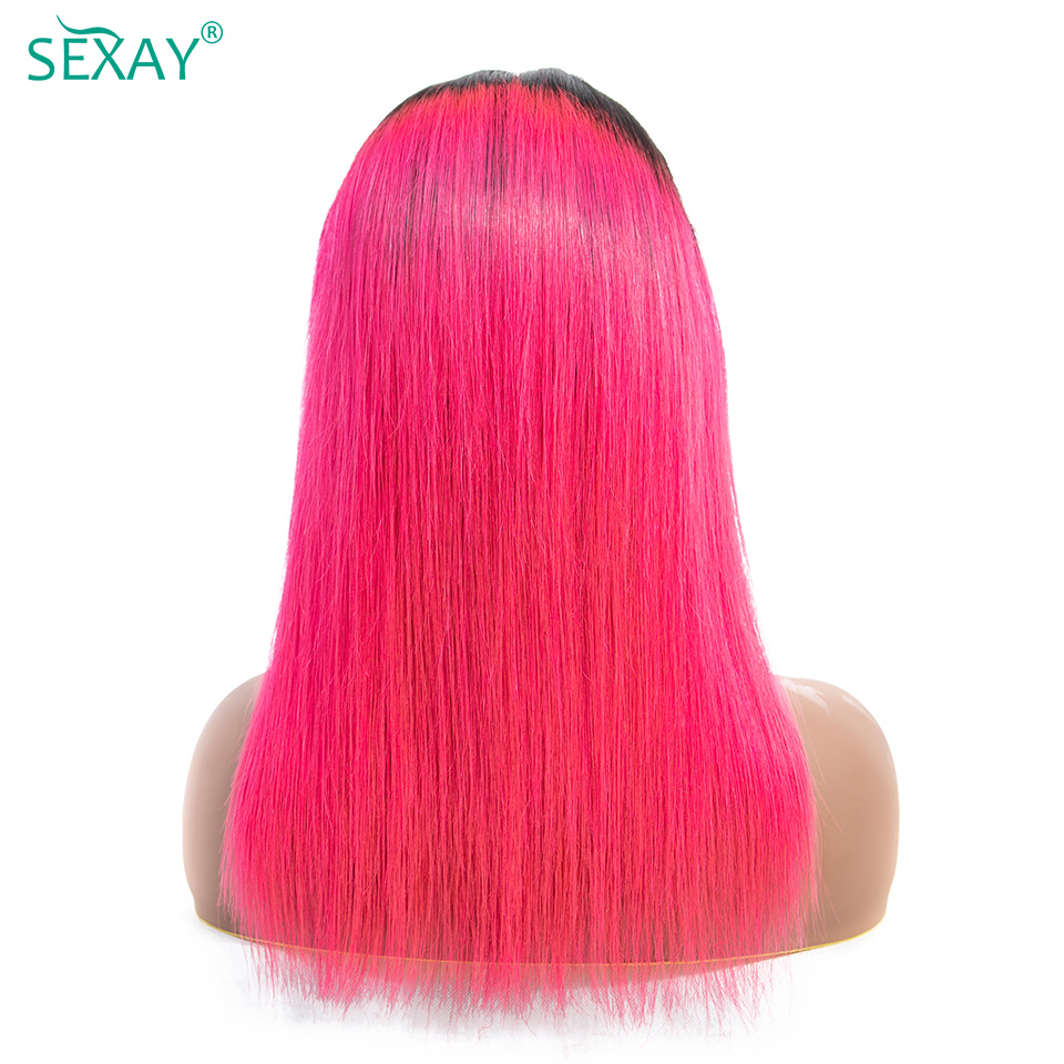 sexay 4x4 lace closure wig lace front human hair wigs for women (12)