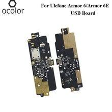 Ocolor สำหรับ UleFone ARMOR 6 ปลั๊ก USB Charge BOARD ประกอบชิ้นส่วนซ่อมสำหรับ UleFone ARMOR 6E USB โทรศัพท์มือถืออุปกรณ์เสริม