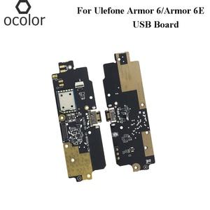 Image 1 - Ocolor สำหรับ UleFone ARMOR 6 ปลั๊ก USB Charge BOARD ประกอบชิ้นส่วนซ่อมสำหรับ UleFone ARMOR 6E USB โทรศัพท์มือถืออุปกรณ์เสริม