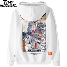 Männer Hip Hop Hoodie Sweatshirt Stein Löwen Chinesische Streetwear 2019 Harajuku Hoodie Pullover Herbst Winter Fleece Hoodie Baumwolle Top
