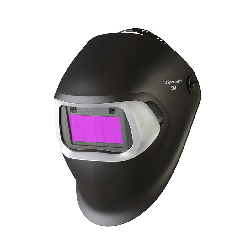 3-M Speedglas TM 100V Automatic Light-changing Welding Mask For Electric Welding Safety Helmet  Hard Hat GM1105