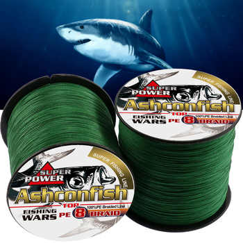 Super pe lines fishing 2000M big game for sea fishing x8 strands 6-300LB braided wires long lines fishing cords strength 1.0mm