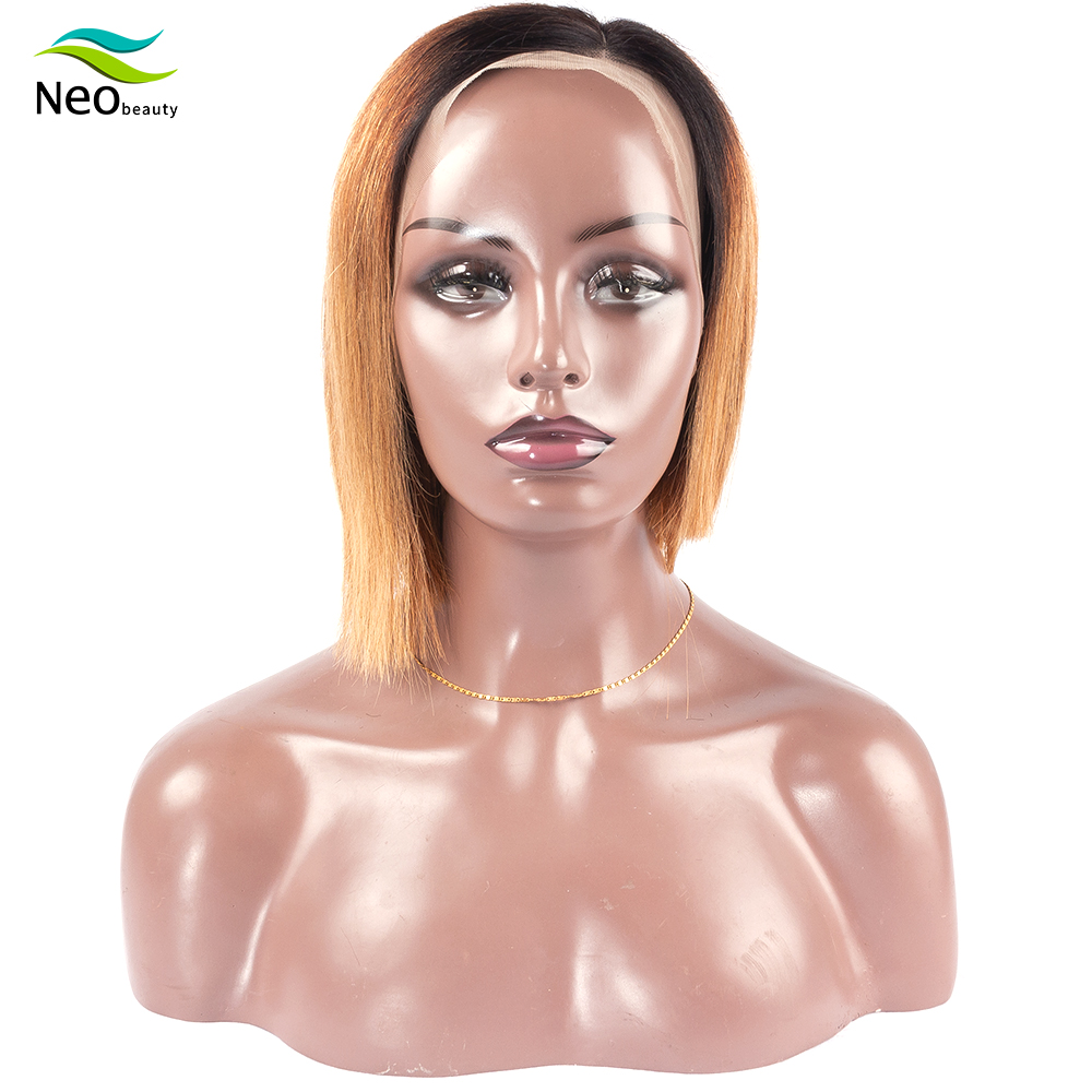 Cheap Wigs Straight Short Human Hair Wigs Wig Straight Bob Lace Front Wigs Blonde Lace Front Human Hair Wigs With Free Shipping