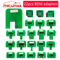 OBD2 Diagnostic Tool For Dimsport BDM Probe Adapters 22pcs/set full package LED BDM Frame ECU RAMP Adapters Free shipping