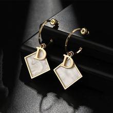 New luxury drop jewelry earrings fashion collocation acrylic