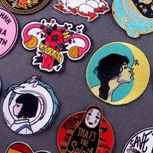 Состаренные картинки Ван Гога/Ван Гога, патчи для одежды, японские аниме наклейки на одежду, вышитые патчи для одежды