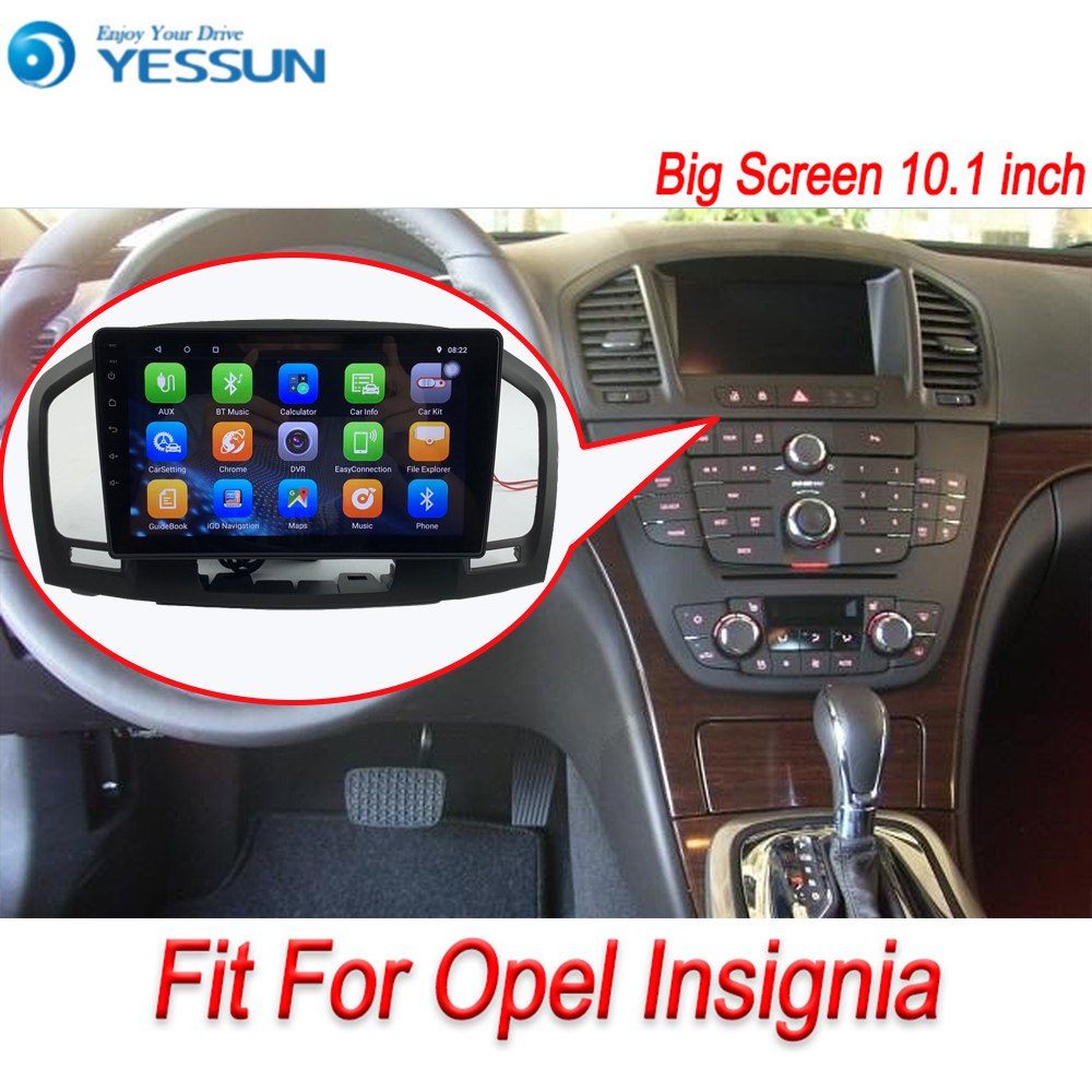 Android System For Opel Insignia Autoradio Car Radio Stereo GPS Navigation Multimedia Audio Video IPS Screen