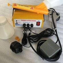 PC03-5 машина для электростатического распыления, портативная пластиковая система нанесения порошкового покрытия, распылительная машина для металлических заготовок 110 В/220 В 3,3 Вт А