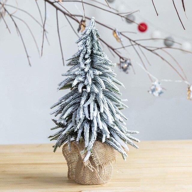 2019 boże narodzenie sztuczne mini Xams drzewo blat okno restauracja recepcja sklep dekoracje małe arbol de navidad