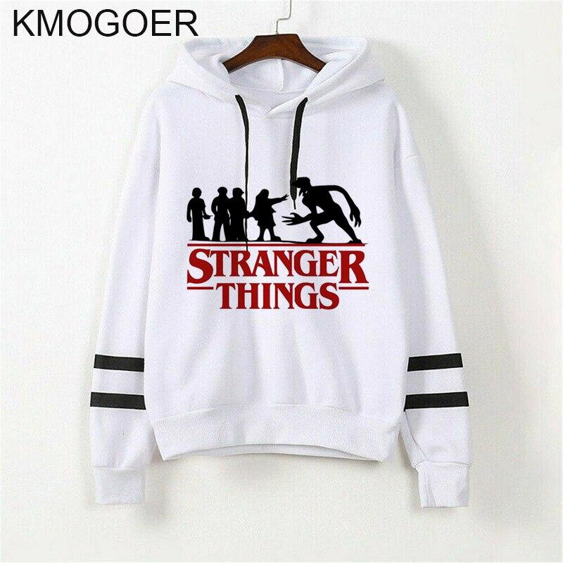Stranger Things Season 3 Hoodie Women Funny Eleven Sweatshirts Kawaii Korean Oversized Harajuku Hip Hop Hooded Female Hoodies