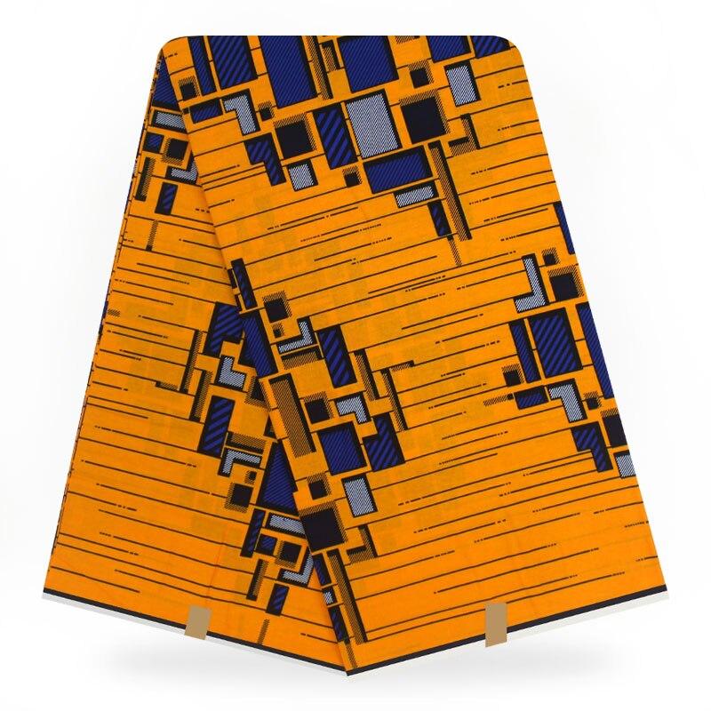African Wax Print Fabric  2020 High Quality  Dutch Real Dutch Wax ,african Printed Fabric 100% Cotton 6yards Wax Cloth