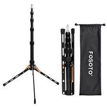 Fosoto Ft 140 Led Light Stand Draagbare Statief Voor Fotografische Verlichting Flash Paraplu Reflector Fotostudio Camera Telefoon