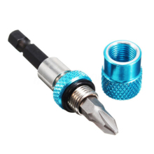 "2/1Pcs Magnetic Screw Bit Holder Adjustable Quick Release 0.27 1/4"" Hex Shank Screwdriver Holder Magnet Drywall Drill Screw Tool"
