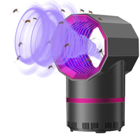 Electric Mosquito Killer Lamp Radiationless Mosquito Killer Photocatalysis Mute Home LED Bug Zapper Insect Trap Anti Mosquito