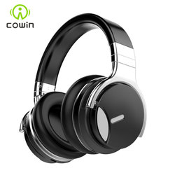 Cowin E7S  Active Noise Cancelling Bluetooth Headphones ANC headphone Wireless Over Ear Stereo Headset with microphone for phone