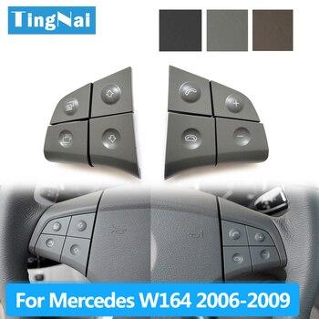 Auto Multi-funktion Lenkrad Tasten Kit Telefon Control Schlüssel Für Benz W164 ML GL300/350/400/450 2006-2009