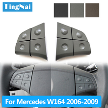 Car Multi-function Steering Wheel Buttons Kit Phone Control Keys For Benz W164 ML GL300/350/400/450 2006-2009