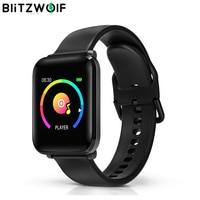 BlitzWolf BW HL1 Smart Watch Wristband IPS Big Screen 8 Sports Mode IP68 Waterproof Display HR Blood Pressure O2 Fitness Tracker