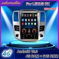 Автомобильный радиоприемник Xdcradio 12,1 дюйма, Android 10,0, для Lexus RX RX300, RX330, RX350, RX400, RX450, автомобильный мультимедийный плеер с GPS-навигацией, 4G