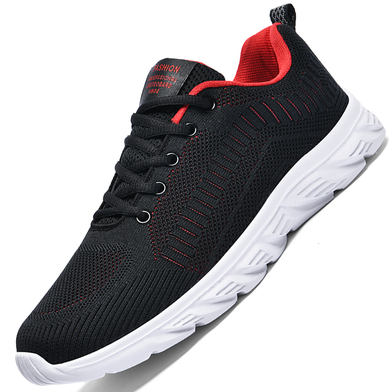Summer Trendy Men Sneakers Super Light Breathable Shoes Big Size Trend Daily Waking Comfortable Casual Tenis Zapatillas Hombre