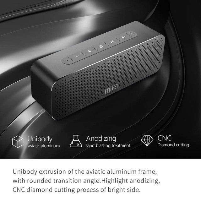 MIFA A20 Bluetooth Speaker Metal Portable Super Bass Wireless speaker Bluetooth4 2 3D Digital Sound
