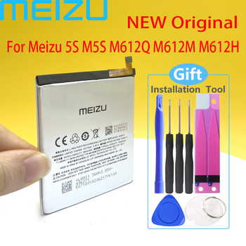 Meizu Original BA612 Battery For Meizu 5S M5S M612Q M612M Mobile Phone High Quality Battery With Tracking Number meizu high quality battery 100