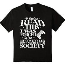 Если вы можете прочитать эту веселую футболку (фотография)