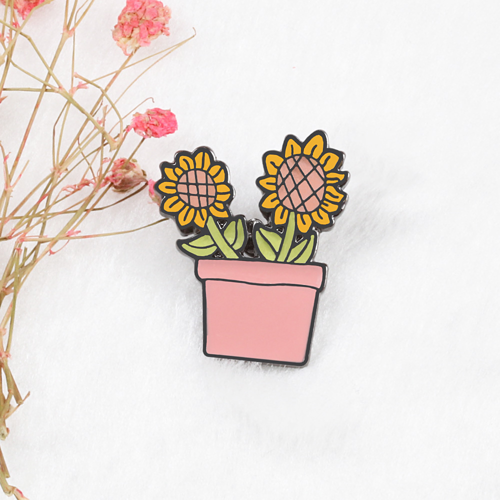 Potted Plants Brooch Pins 4