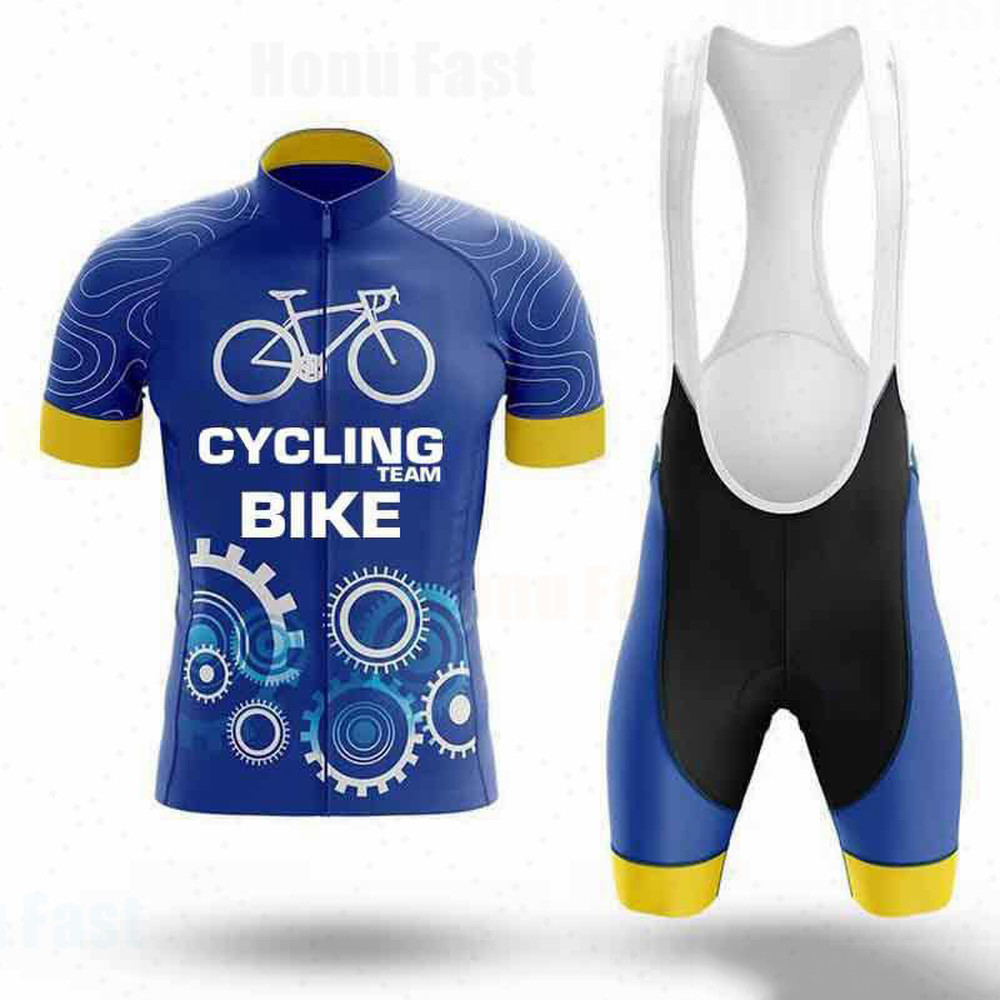 ALEIN Cycling Jersey 2020 Summer men MTB Cycling <font><b>shirt</b></font> Set Bicycle Short sleeve <font><b>Bike</b></font> sportswear <font><b>shirt</b></font> clothing Maillot Ciclismo image