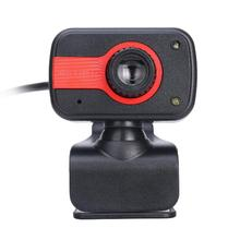 MeterMall 360� Adjustment HD Webcam USB Interface Night Vision Web Camera Automatic Color Correction Cam With Microphone