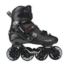 100% Original 2019 SEBA Trix2 Adult Inline Skates Roller Skating Shoes Rockered Frame Slalom Sliding FSK Patines Adulto