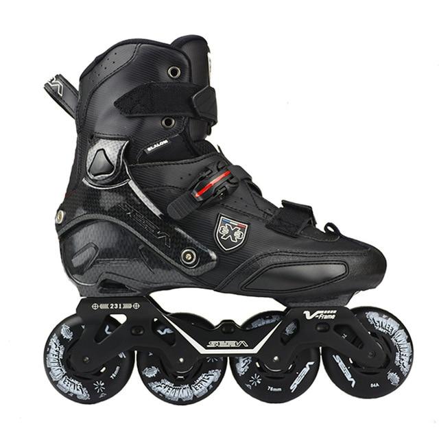 100% Original 2019 SEBA Trix2 Erwachsene Inline Skates Roller Skating Schuhe Rockered Rahmen Slalom Schiebe FSK Patines Adulto
