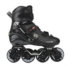 100% original 2019 seba trix2 adulto patins inline sapatos de patinação rockered quadro slalom deslizante fsk patines adulto