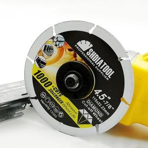 Image 5 - SHDIATOOL 1pc 4.5/ 5 Vacuum Brazed Diamond Metal Cutting  Blades Steel Tube, Iron Rebar Cut off Saw Wheel Disc Angle Steel