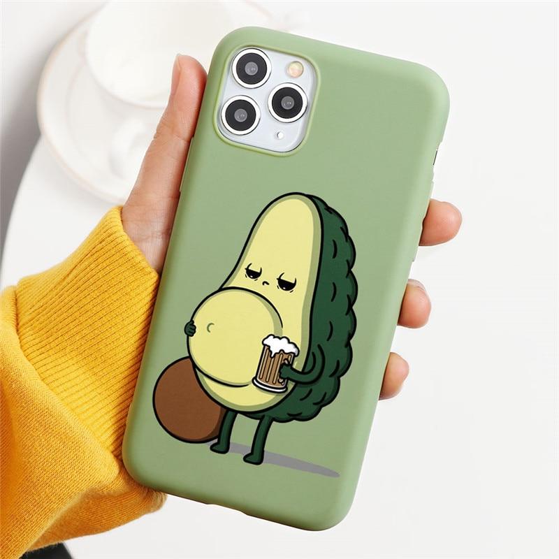 Cute Avocado Case 46