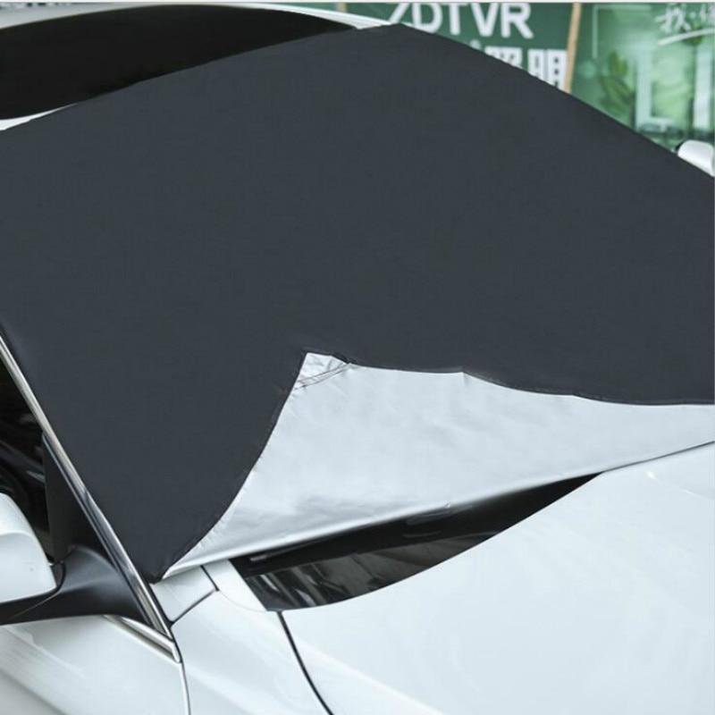 Магнитное лобовое стекло автомобиля, защита от снега, защита от снега, защита от солнца, защита от мороза, противотуманная защита, универсальная защита от солнца для автомобиля