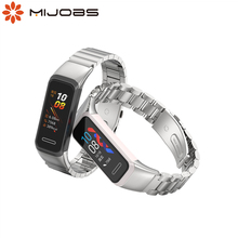 For Huawei Band 4 Strap Metal Wrist Bracelet For Honor 5i Band Wristbands Replacement Strap For Huawei 4 Band Accessories Correa
