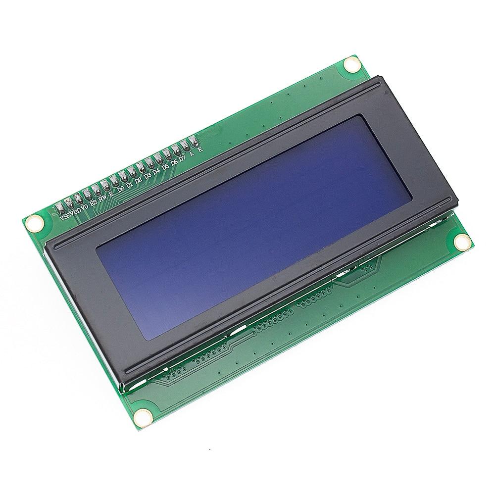 1 шт. lcd 2004+ igc 2004 20x4 2004A синий/зеленый экран HD44780 символ lcd/w IIC/igc последовательный интерфейс модуль адаптера - Цвет: Синий