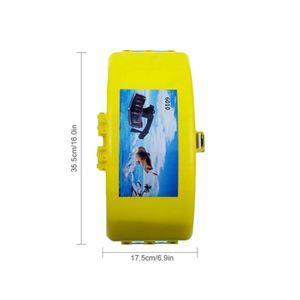 Tragbare Falten Angeln Taille Box Angeln Getriebe Lagerung Fall Wasserdicht Tackle Box Outdoor Angeln Zubehör 668