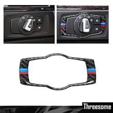 1pcs reequipamento Interior multimídia Interruptor decoração anel Para BMW 1 3 4 5 7 Série X1 X3 X4 X5 X6 2013-2014 E81 E87 F30 F31 F34 F32
