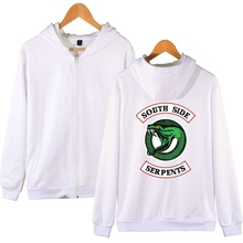 New Riverdale Womens Zip Hoodie Fashion Trend Casual Sports