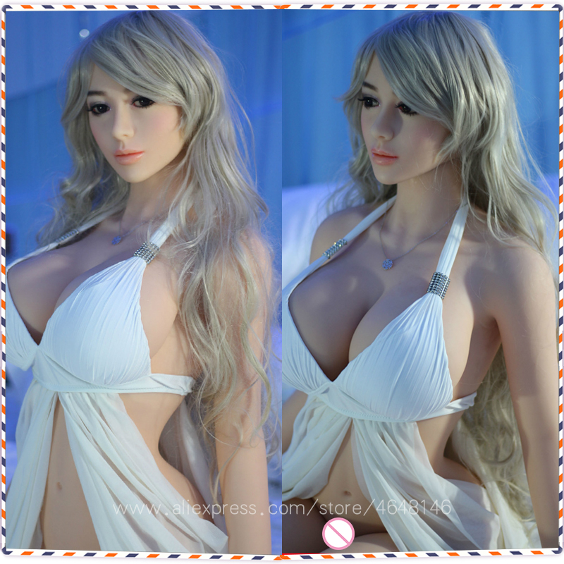 168cm Full TPE with Metal Skeleton Sex Doll Beautiful Girl Real Silicone Sex Dolls for Men