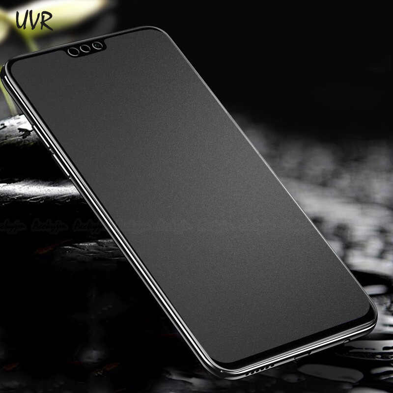 Full Cover Matte Tempered Glass Huawei Honor 7X 8X Max 8C P9 Plus Honor 8 9 10 Lite 9i No Fingerprint Frosted Screen Protector