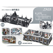 Creator Expert City Batman Movie Dc Super Heroes Arkham Asylum Breakout Lunatic Hospital Modular Building Blocks Bricks Toy Gift